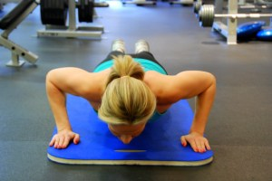 The Push-Up: one of many exercises you can do anywhere!