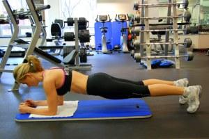 The plank: No gym necessary!