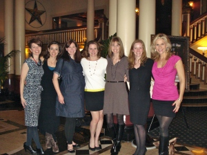 NU Gals Strike Again!  At the Driskill Hotel